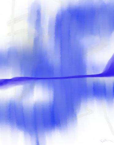 through your window
