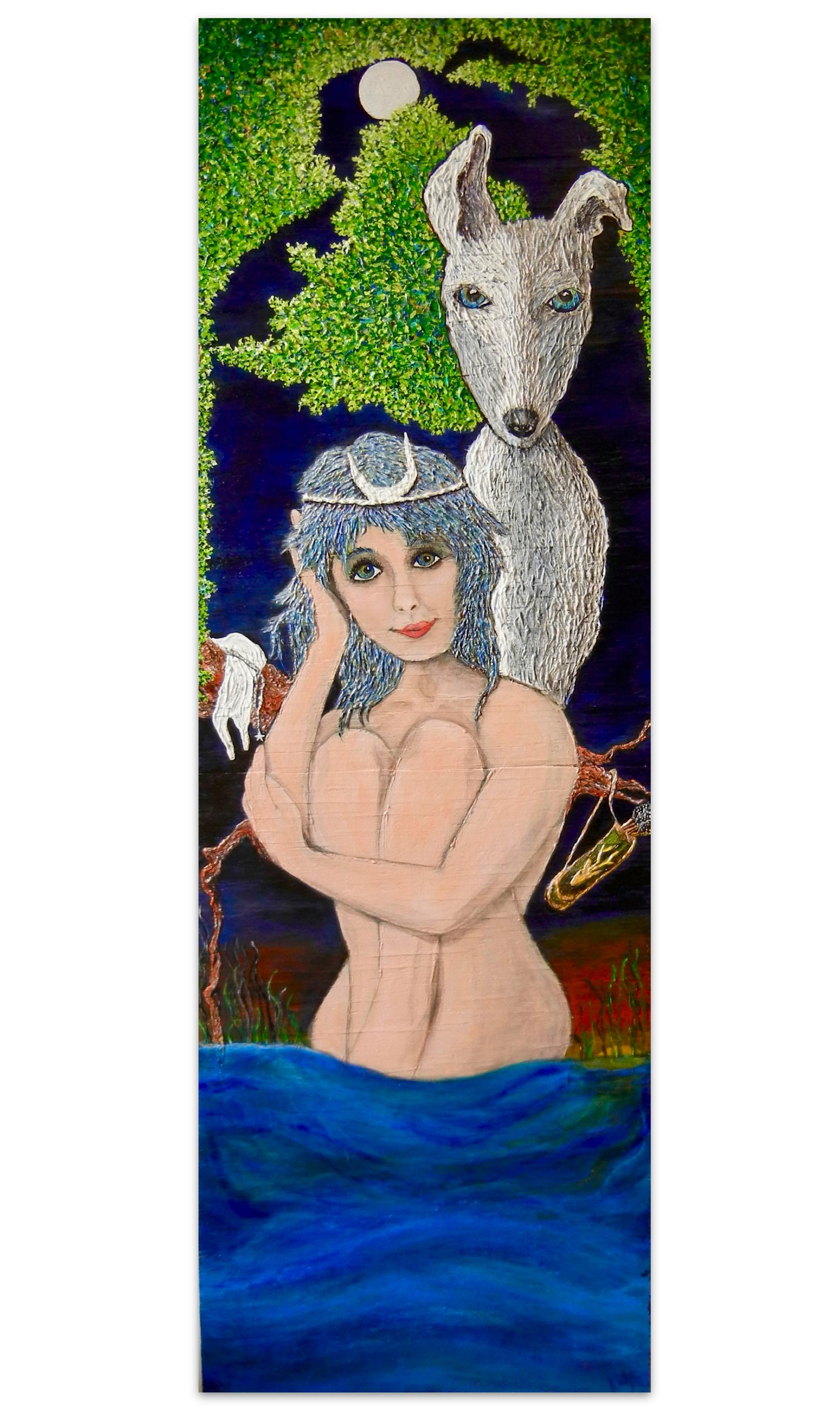 'watching Orion bathe'/St. Simons Artist Katy Boyer | Blissbait Art
