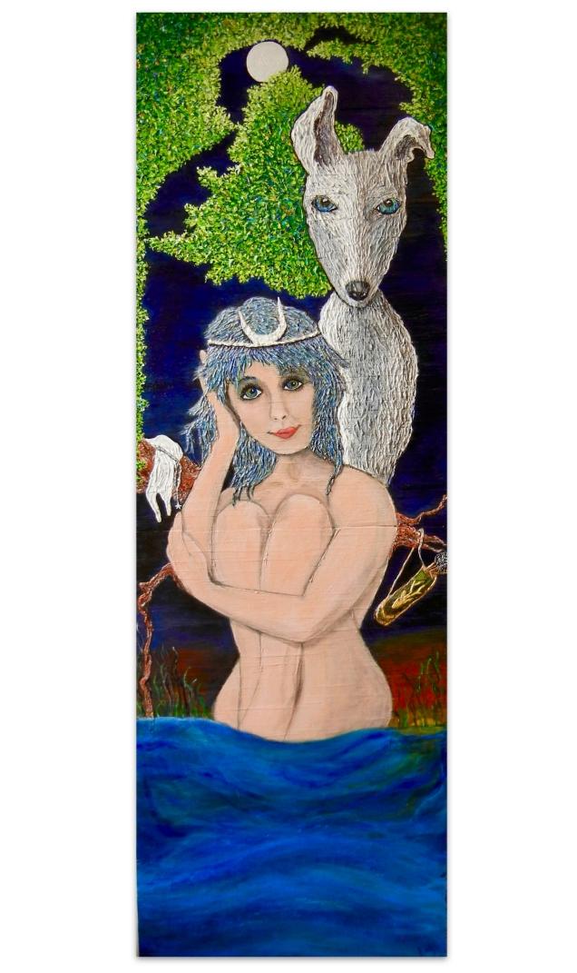 'watching Orion bathe'/St. Simons Artist Katy Boyer   Blissbait Art